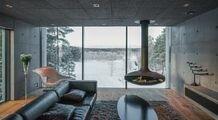 Concrete minimalism: villAma by the sea