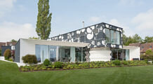 Villa on Lake Constance, Switzerland