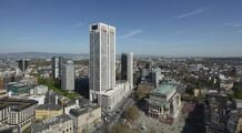 The OpernTurm (Opera Tower), Frankfurt