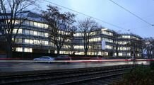 Administrative centre of the public utility company, Karlsruhe